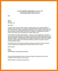 14 non profit donation thank you letter examples delivery challan