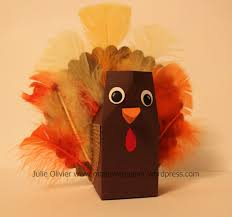 Halloween Milk Carton Crafts by Thanksgiving Craft Made With Paper