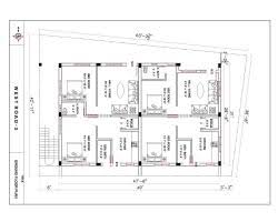 Home Design 30 X 60 Duplex House Plans 30 40