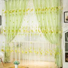 Sunflower Yellow Curtains by Luxury Sunflower Curtains For Kitchen Taste