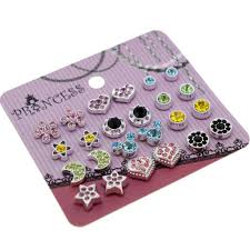 clip on earrings for kids color magnetic clip on stud earrings fashion jewelry for