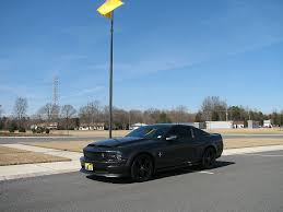 Flat Black Mustang Gt Who Has The Alloy With The Flat Black Cdc Chin Spoiler The
