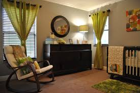 Baby Nursery Fabric Baby Room Green And Brown Bedroom And Living Room Image Collections
