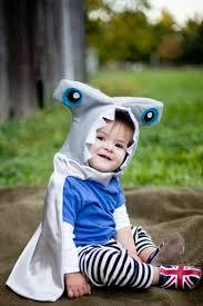 Shark Boy Costume Halloween 12 Kids Crafts Images Hammerhead Shark