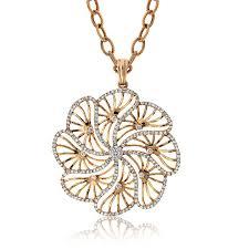 jewelry diamond pendant necklace images Diamond flower pendant pendants necklaces molly 39 s jewelers jpg