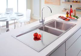 Sink Kitchen Faucet Brushed Nickel Kitchen Sink Faucet With Pull Down Sprayer