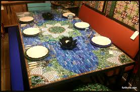 Mosaic Dining Room Table Furthur Wholesale Mosaic Dining Tables