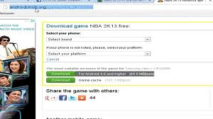 nba 2k13 apk free how to and install nba 2k13 for android