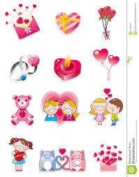 cartoon valentine u0027s day royalty free stock photography image