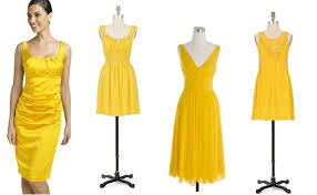 yellow dresses for weddings wedding trend non matching bridesmaids dresses green wedding