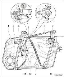 volkswagen workshop manuals u003e golf mk4 u003e body u003e general body