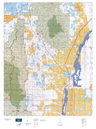 Topographical Map Of New Mexico by New Mexico Gmu 21b North Map Mytopo