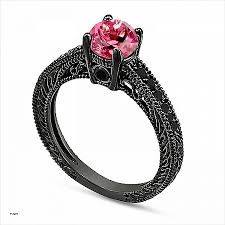 black and pink wedding ring sets engagement ring luxury black and pink engagement ring sets black