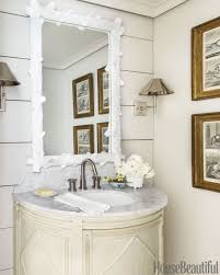 Beautiful Powder Room Half Bath The Potted Boxwood
