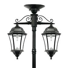 Modern Solar Lights Outdoor by Led Post Lights Outdoor Victorian Bulb Double Downward Hanging