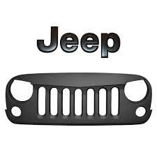 jeep black emblem angry grill blkmtn