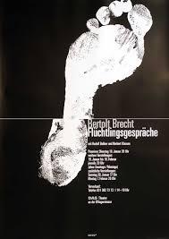 brecht flüchtlingsgespräche ebinger s vintage poster shop