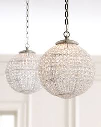 Ball Chandelier Lights Diy Crystal Ball Chandelier View Along The Way