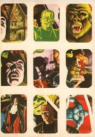 monsters halloween halloween countdown vintage monster stickers shewalkssoftly