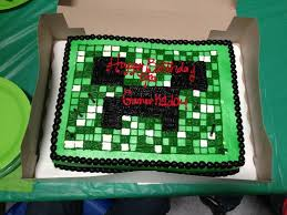 birthday cakes available at walmart birthday cake lego minecraft