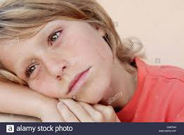 sad unhappy child crying tears stock photo royalty free image