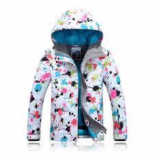 Gsou Snow Waterproof Windproof Jacket Ski Suit Womens Snowboard