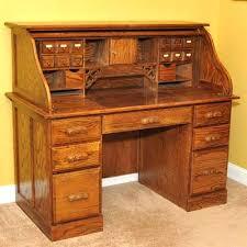 Small Oak Roll Top Desk Computer Desks Furniture Roll Top Computer Desk Golden