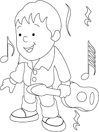 guitar coloring pages to print guitar coloring page download free guitar coloring page for kids