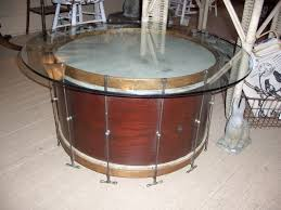 bass drum coffee table home decorating interior design bath