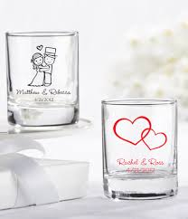 wedding favors unlimited personalized glass wedding favors 27 designs wedding