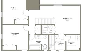 basement home floor plans enjoyable design one house plans with basement home luxamcc