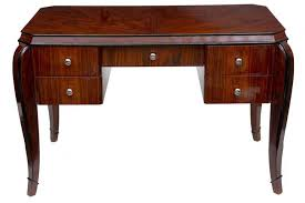 art deco style writing desk art deco writing table desk dressing tables bureau office ebay