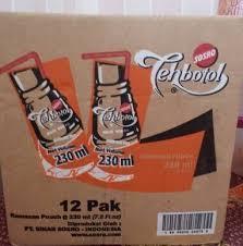 Teh Botol Sosro Pouch 230ml jual teh botol sosro murah 230ml kemasan pouch diajeng sosro