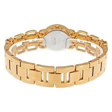 gold guess bracelet images Guess gold tone dial ladies crystal bangle watch w0576l2 guess jpg