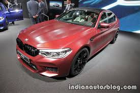 2018 bmw m5 first edition front three quarters left side at the
