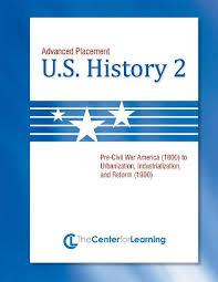 high school history book advanced placement u s history book 2 lesson plans