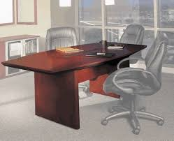 Boat Shaped Boardroom Table 7ft Corsica Veneer Boat Shaped Conference Table By Mayline