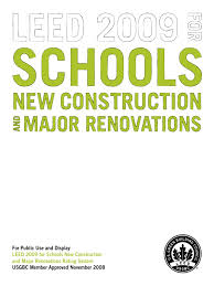 leed for schools docs5547 leadership in energy and environmental