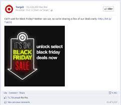 target black friday computer deals how target won black friday on facebook unmetric social media