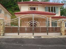 home gate design kerala selangor stainless steel folding main gate from ws metal enterprise