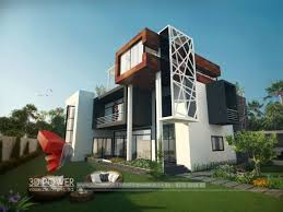 Luxury Bungalow Designs - ultra luxury home bungalow design u2013 3d architectural bungalow