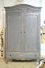 armoire shabby chic armoire french painted cottage by target