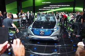mercedes benz generation eq is an all electric suv concept to