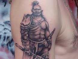 indian warrior tattoo designs changmai warrior tattoo indian