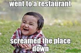 Cry Baby Meme - 10 relatable restaurant memes that scream this is my life