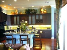 Decorations On Top Of Kitchen Cabinets Excellent Kitchen Cabinet Decor Above Kitchen Sinks Above Kitchen