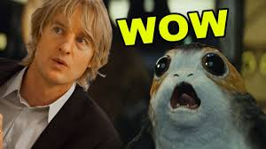 Owen Wilson Meme - the last jedi trailer but every lightsaber sound replaced with