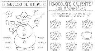 christmas activity sheets in spanish printable spanglishbaby