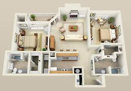 Ground Floor 3 Bedroom Plans Three Bedroom Flat Layout Google Search Houses Apartments