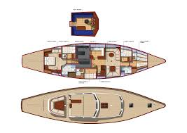 Yacht Floor Plan by Yonder Star Charter Boat Auckland U2013 87ft Luxury Sail Yacht